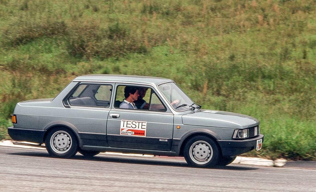 Ayrton Senna - Interlagos - Fiat Oggi