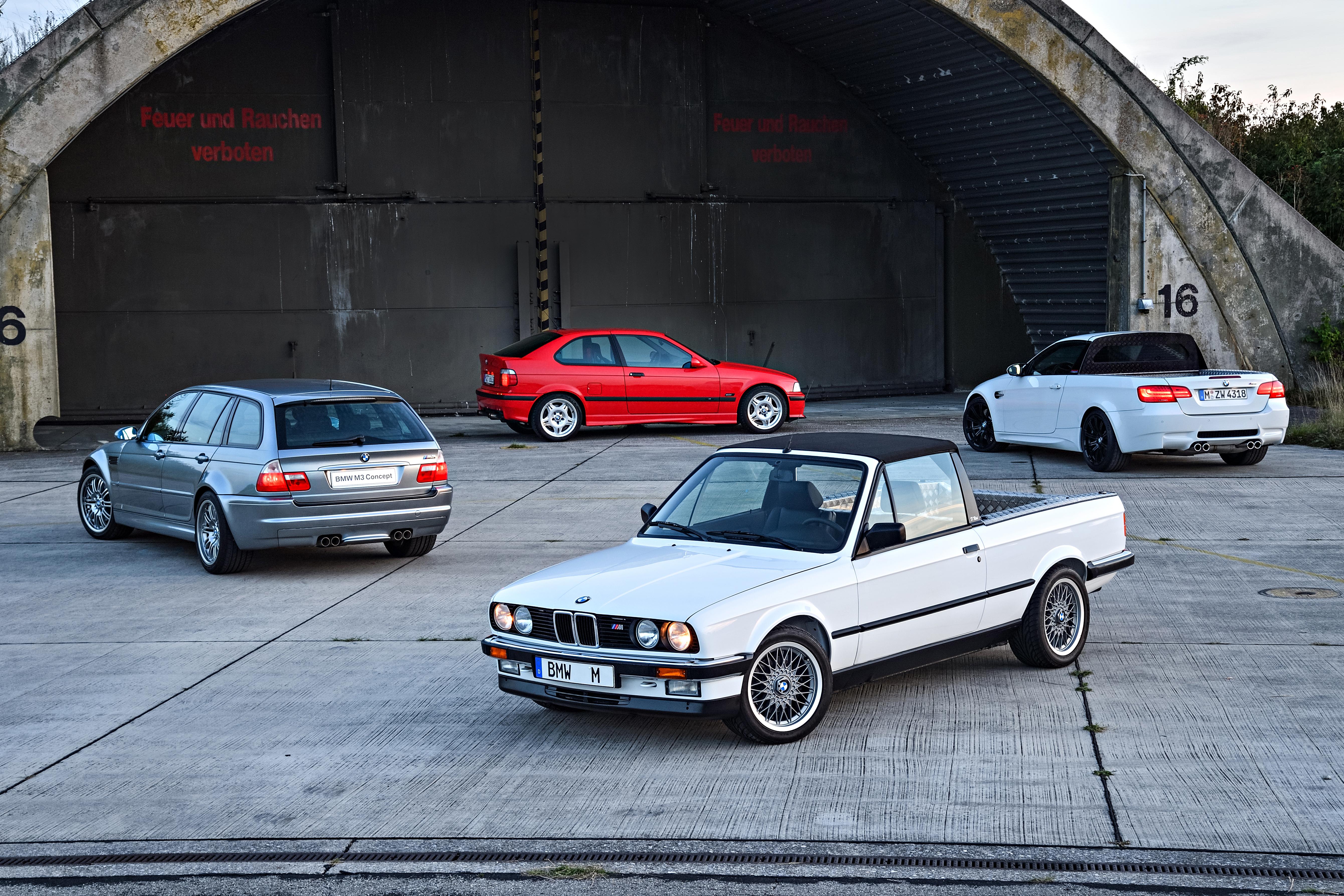 BMW M3 - protótipos