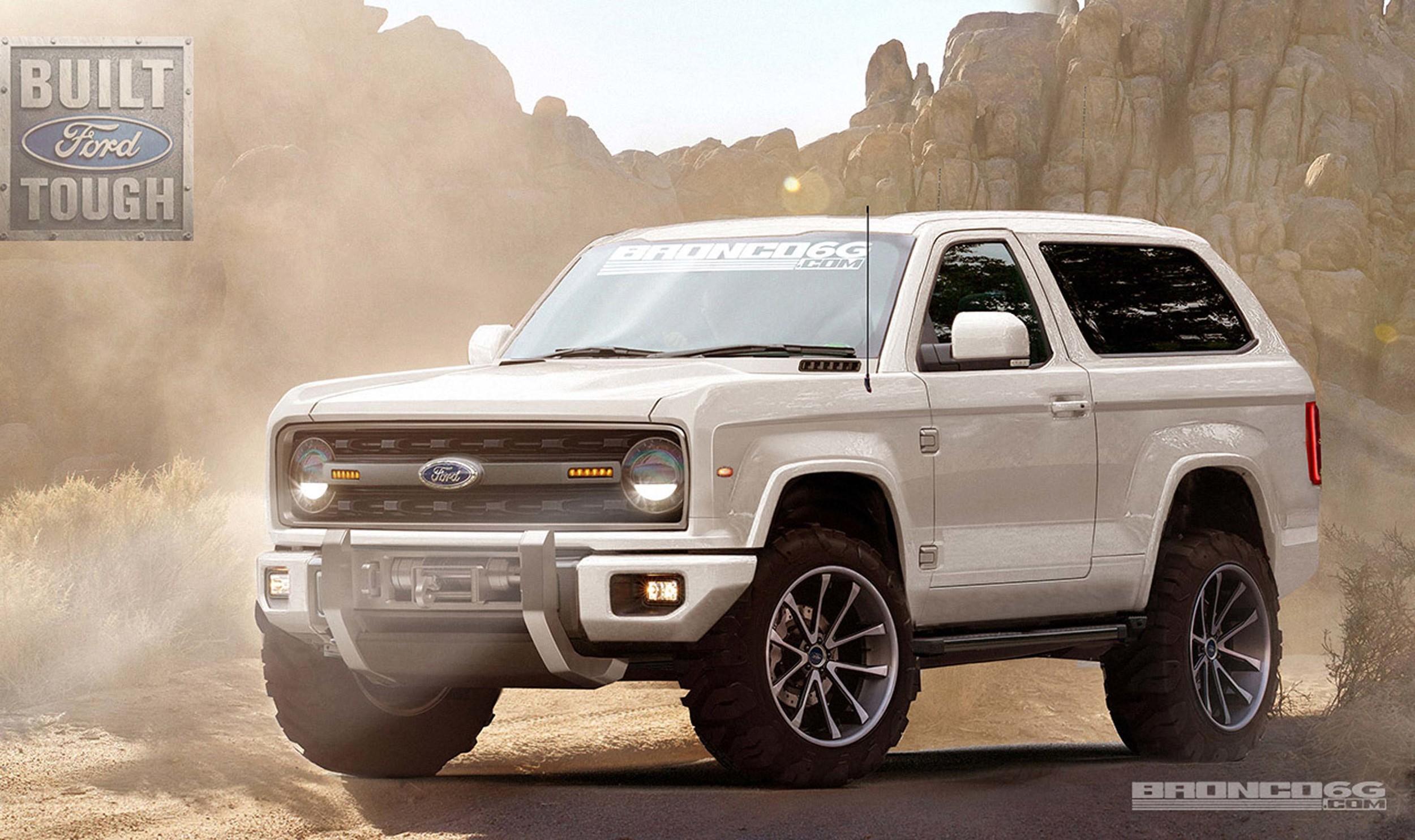 Ford Bronco Voltara A Ser Produzido Nos Eua Quatro Rodas
