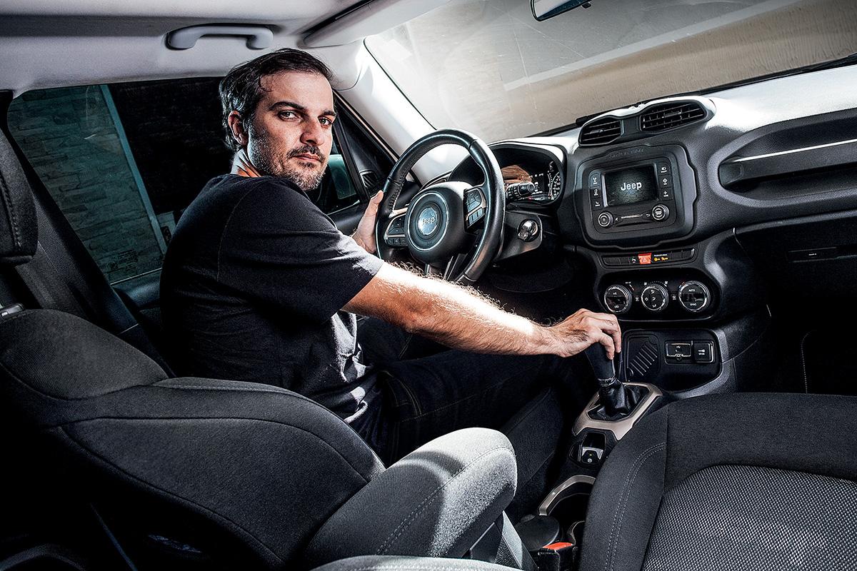 Autodefesa: câmbio do Jeep Renegade