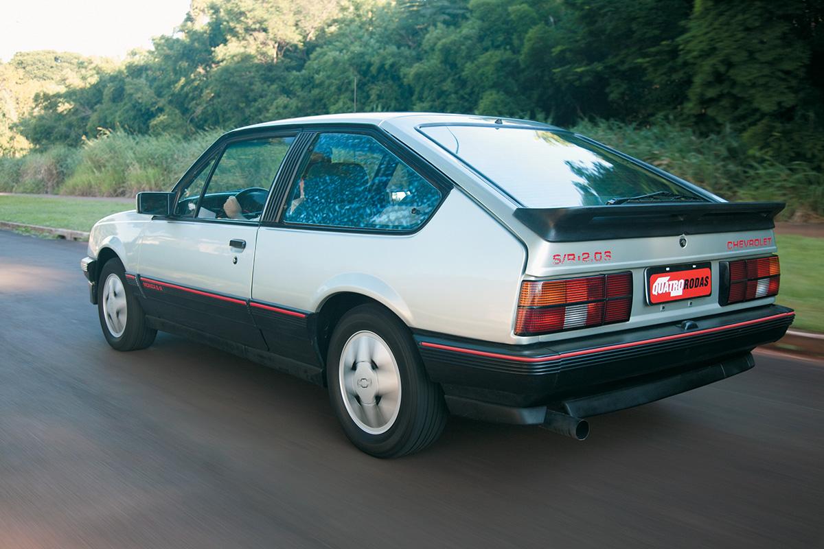O aerofólio tinha pouca utilidade para um carro que não ultrapassava os 170 km/h