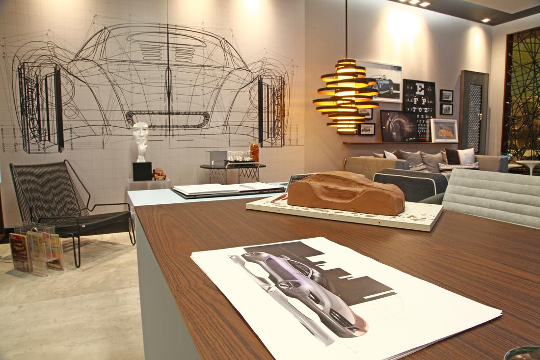 ... e o atual centro de estilo na fábrica da VW em São Bernardo do Campo