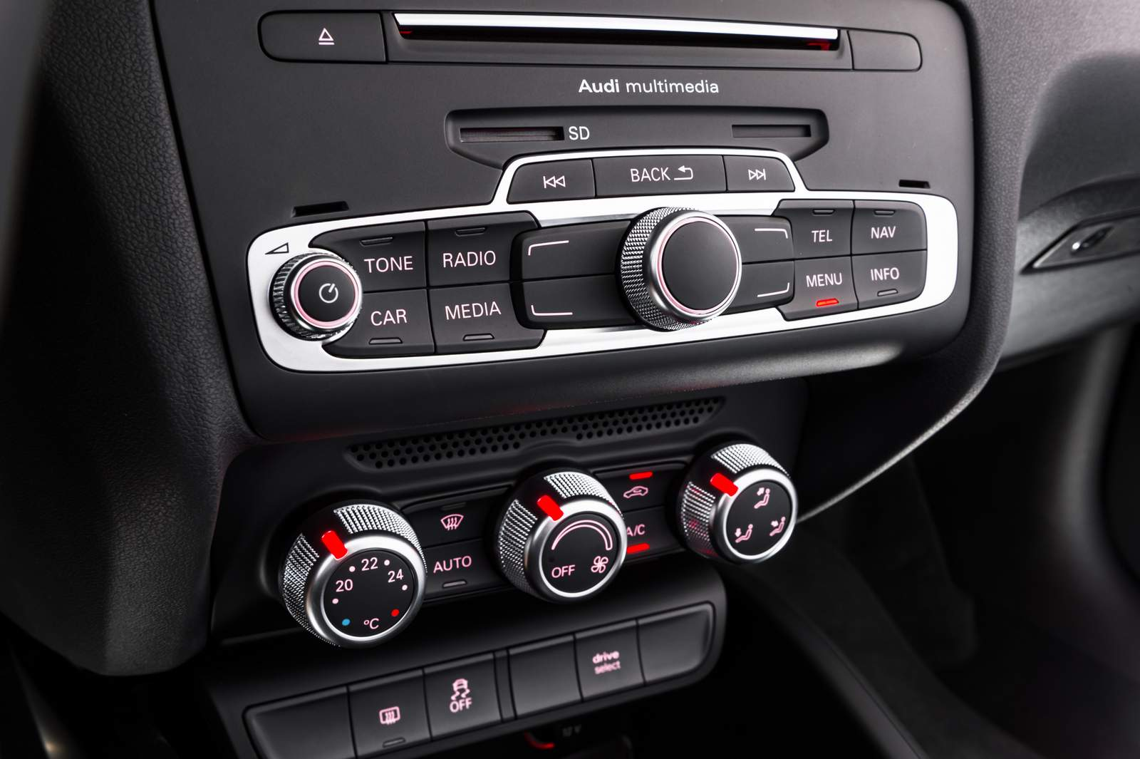Sistema de som do Audi A1