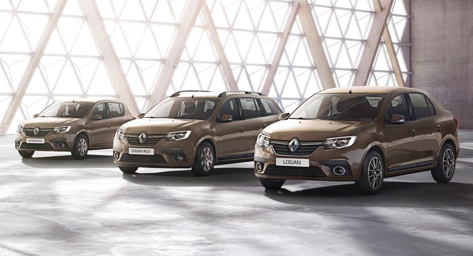 Renault Logan e Sandero