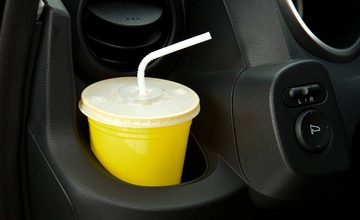 Porta-copos do Honda Fit
