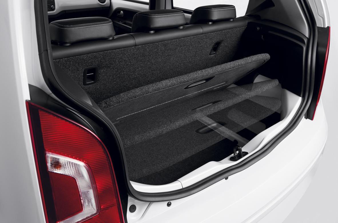 Porta-malas com fundo falso do VW Up