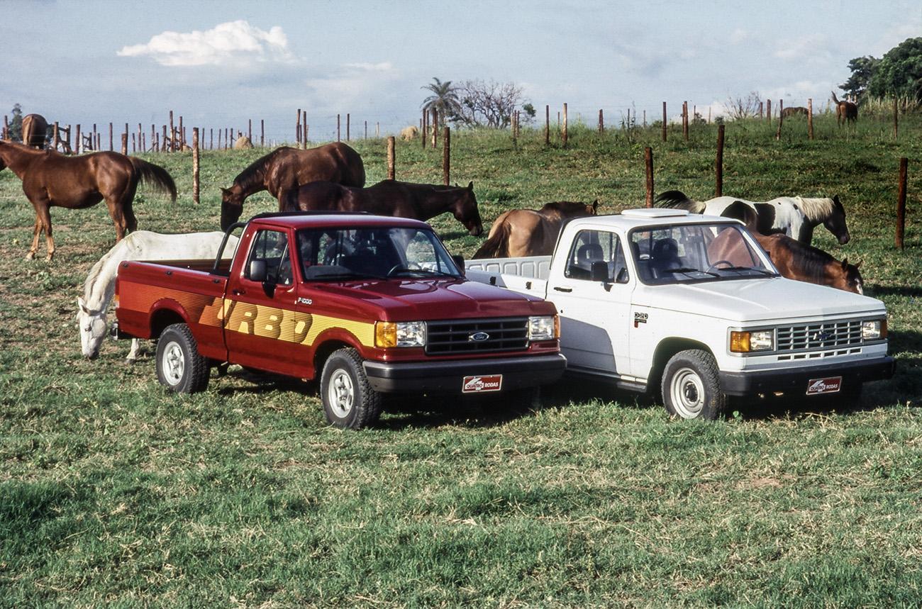 Chevrolet D-20 x Ford F-1000