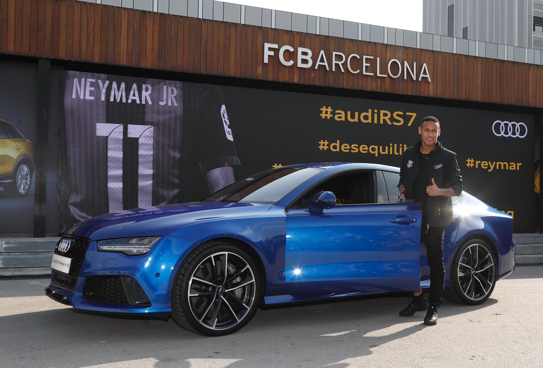 Audi RS7 Neymar