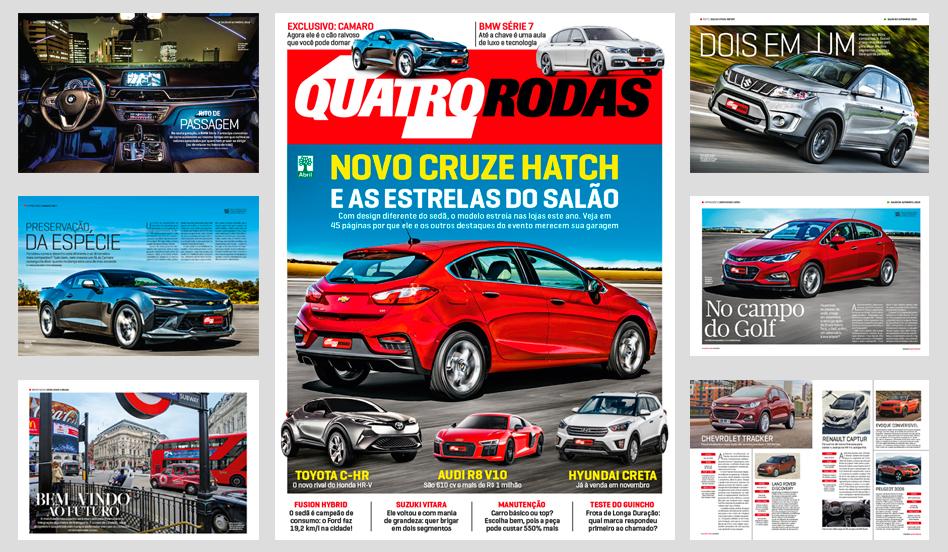 QUATRO RODAS - edição 689 - novembro de 2016