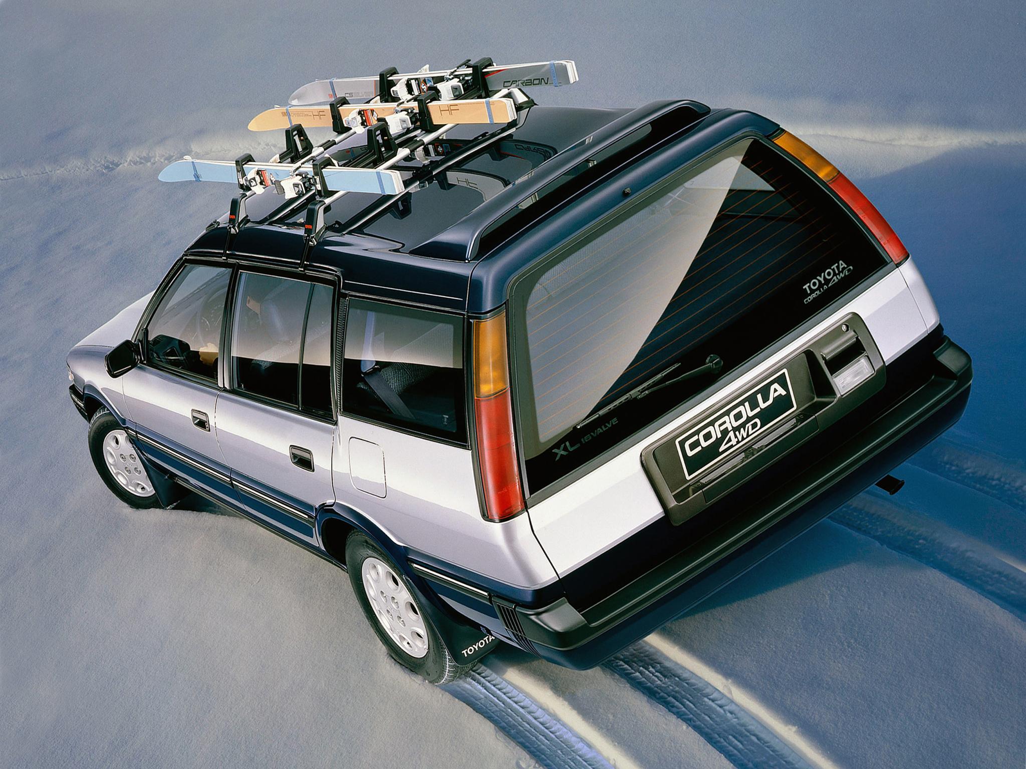 Toyota Corolla Wagon 4WD