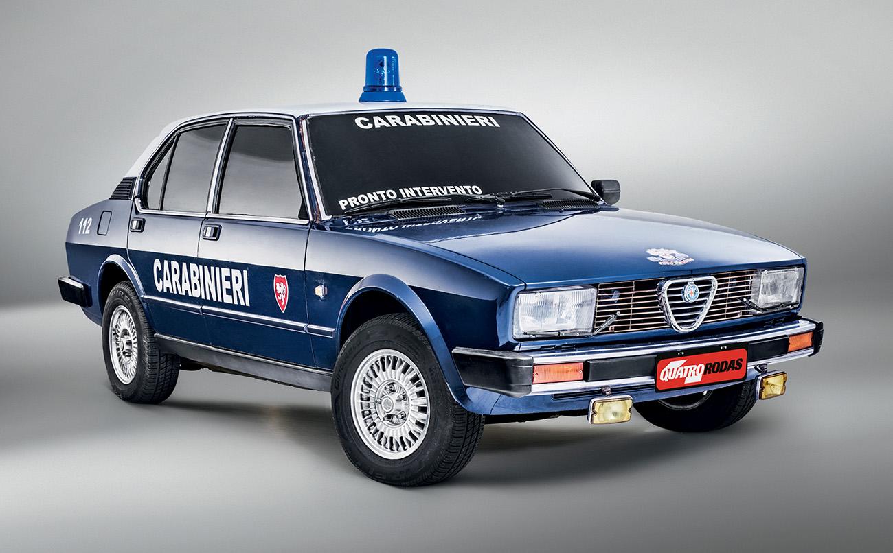 Alfa Romeo Alfetta Berlina Abuso De Autoridade Quatro Rodas