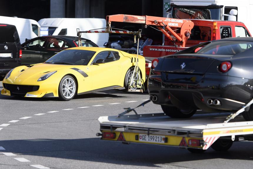 Ferraris apreendidas