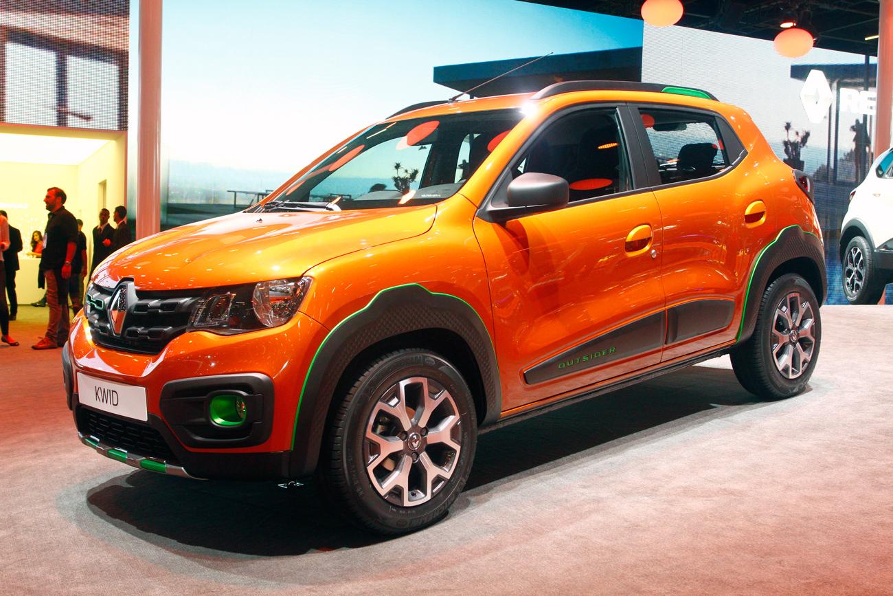 Renault Kwid Outsider, copnceito aventureiro exibido no último Salão do Automóvel
