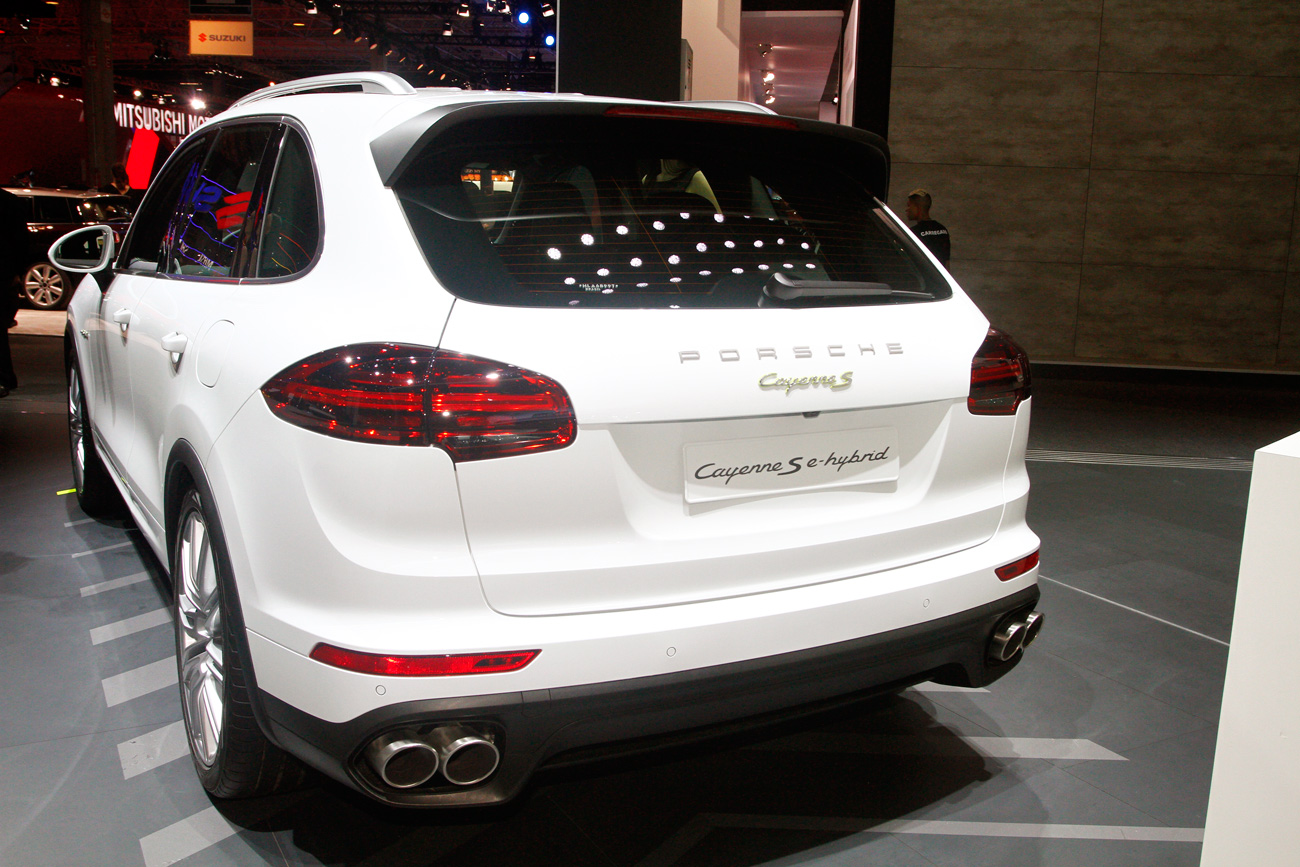 Porsche Cayenne S E-Hýbrid