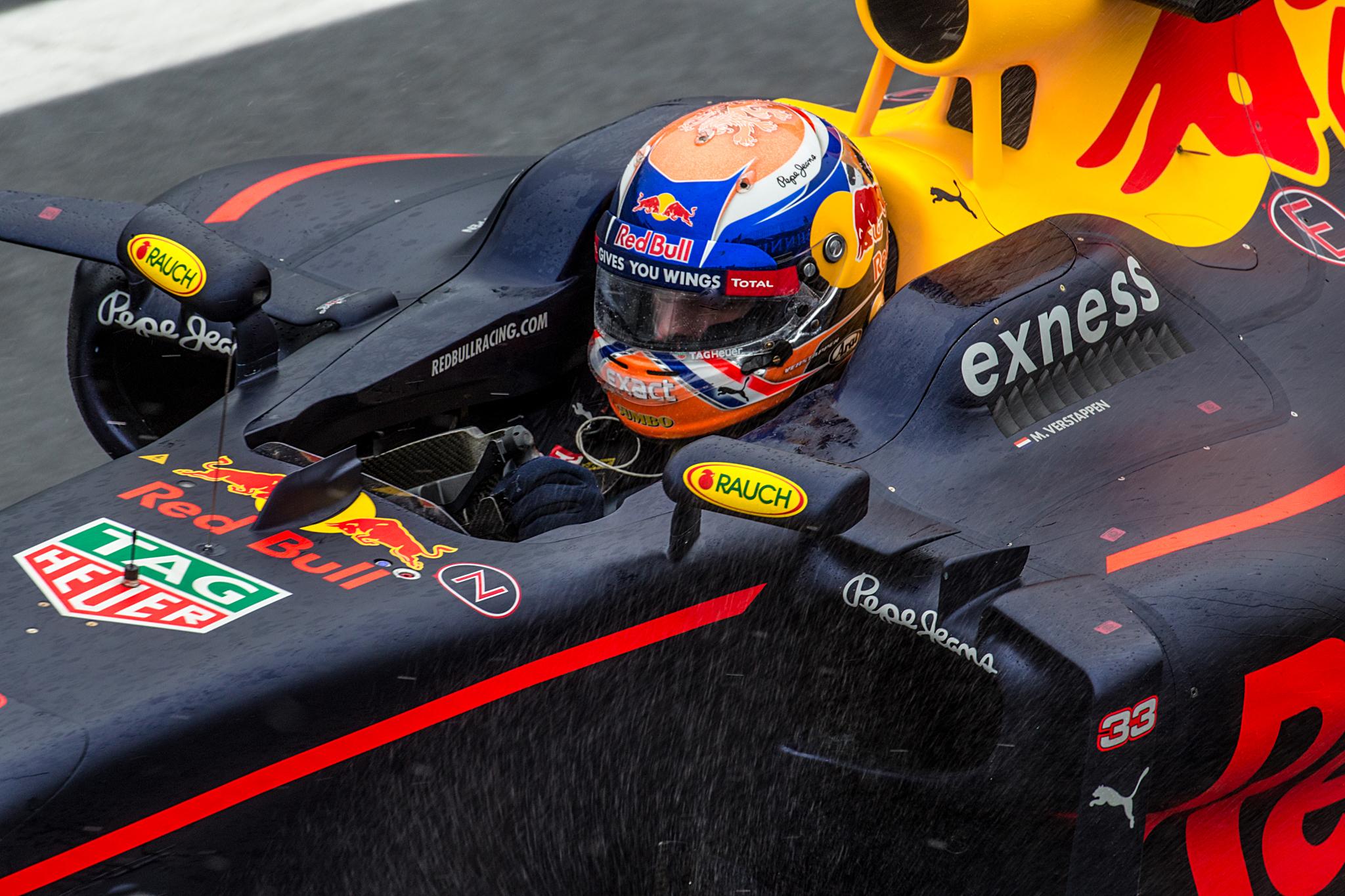 Max Verstappen no GP do Brasil de F-1 2016