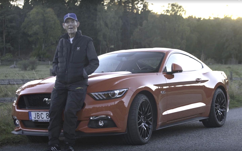 Lennart Ribring e seu Ford Mustang GT 1