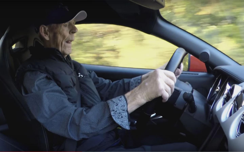 Lennart Ribring e seu Ford Mustang GT 2