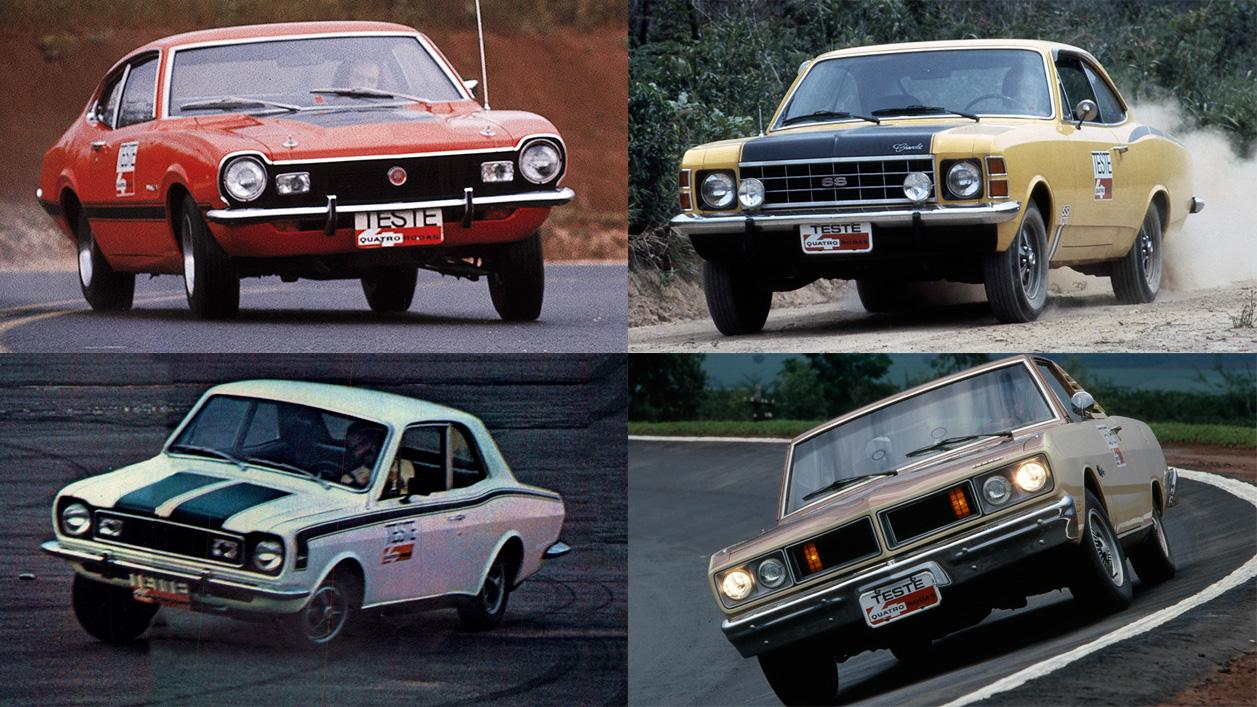 Maverick GT x Opala SS x Corcel GT x Charger R/T