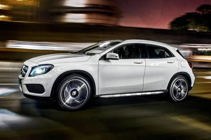 Autodefesa – Mercedes GLA