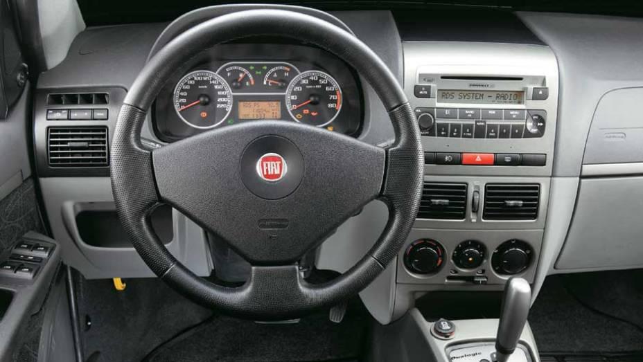 Duplo airbag e ABS são oferecidos como opcionais