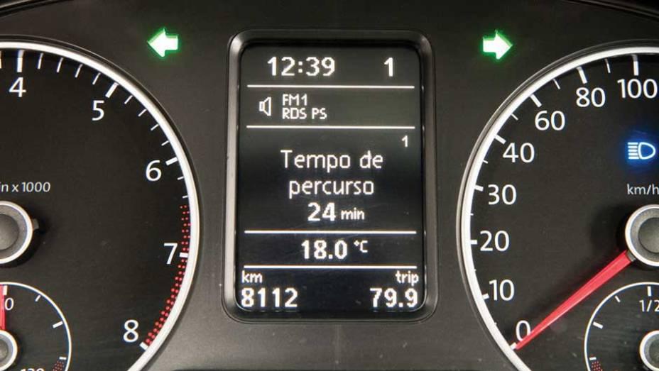 Em D, visor mostra marcha em uso