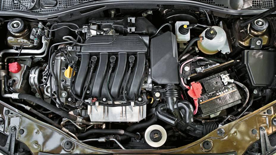 Motor 2.0 16V equipava o Mégane