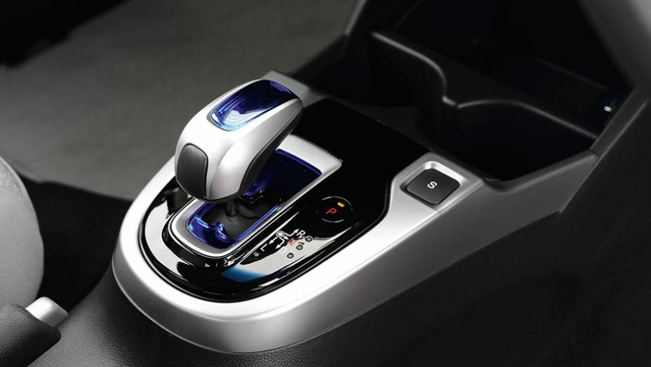 """Sport Hybrid: Versão conta com caixa automatizada de sete marchas   <a href=""""http://quatrorodas.abril.com.br/carros/impressoes/honda-fit-765447.shtml"""" rel=""""migration"""">Leia mais</a>"""