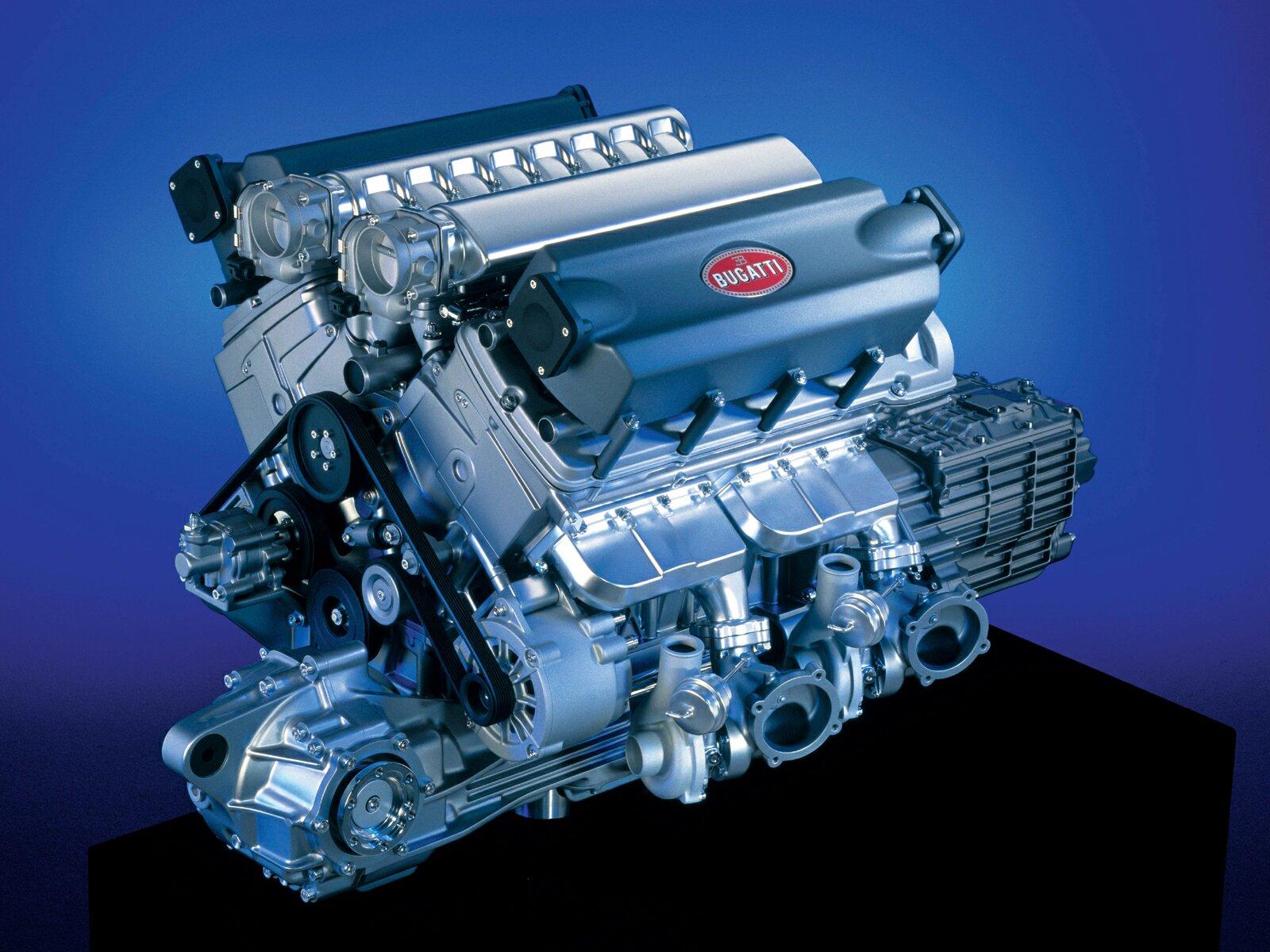 Motor 16;4 da Bugatti