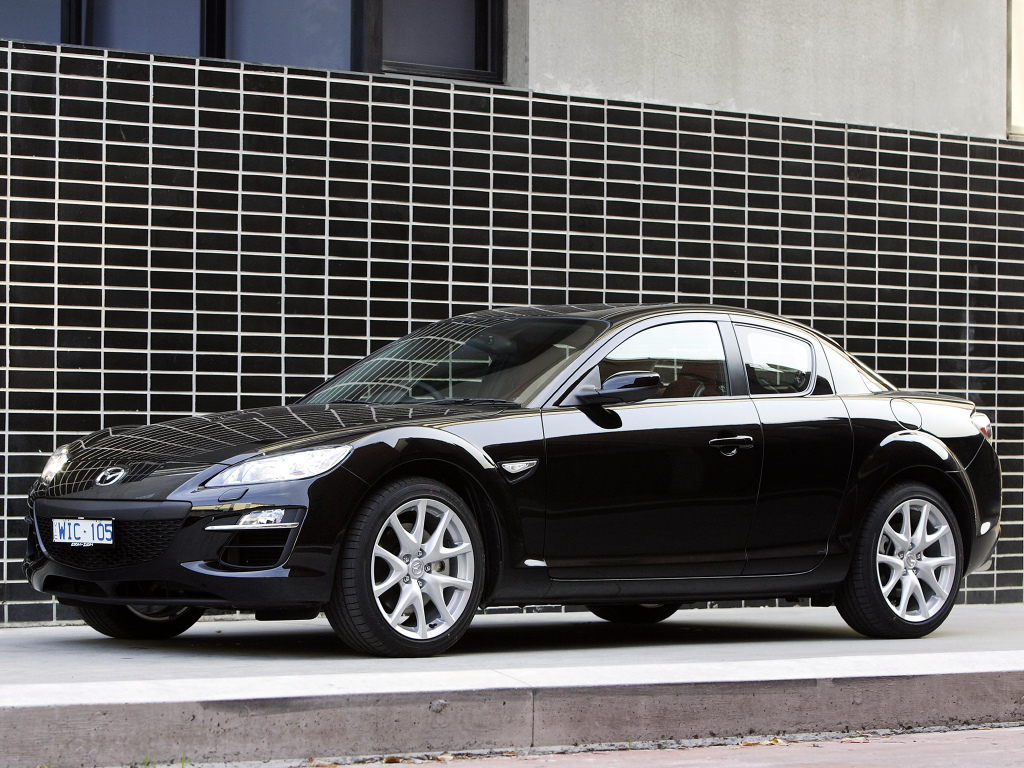 Mazda RX-8, o último com motor Wankel