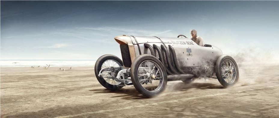 Bob Burman & Blitzen Benz