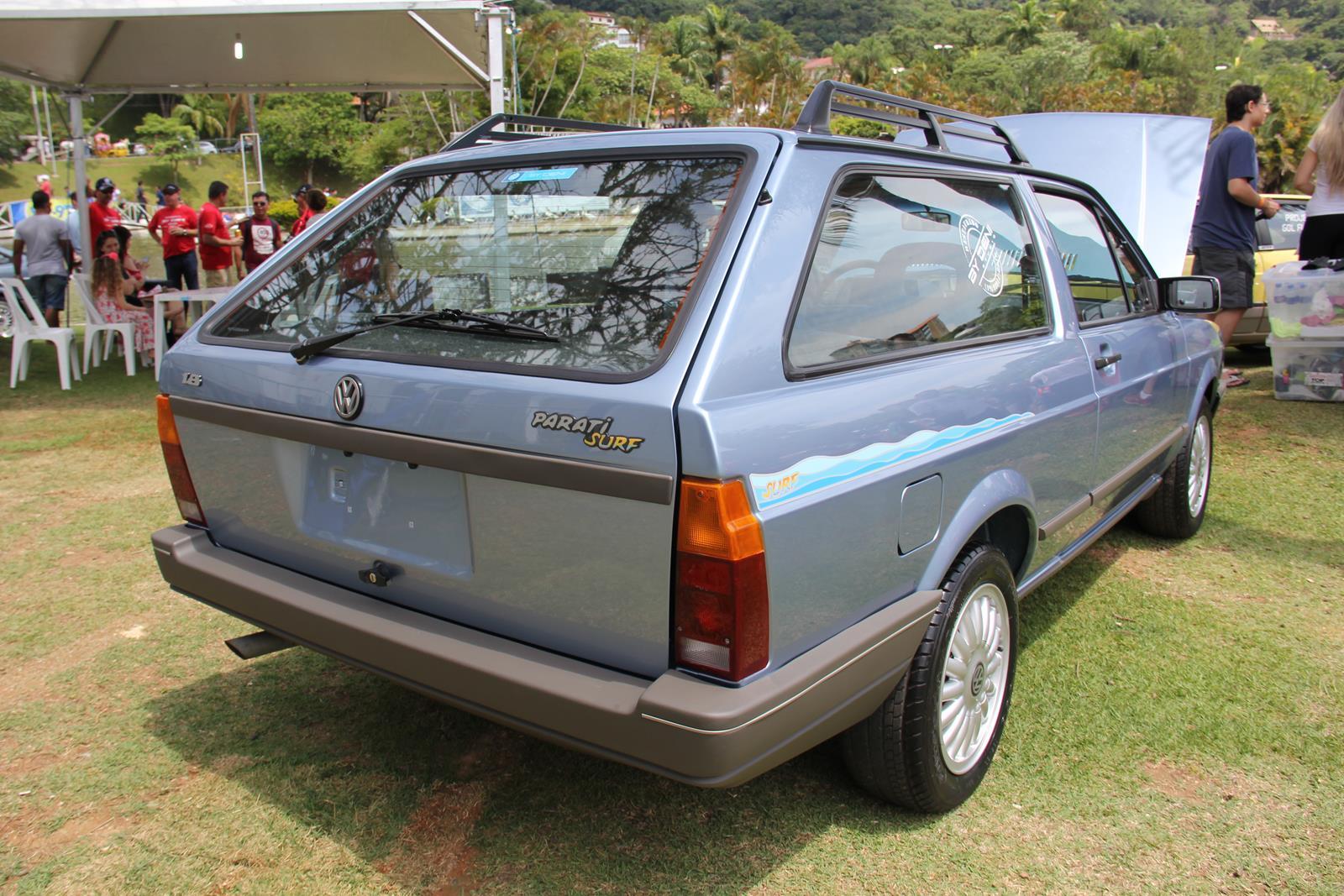 Classico de 1994, a Parati Surf tinha motor 1.8 e era sempre pintada na cor azul Havaí