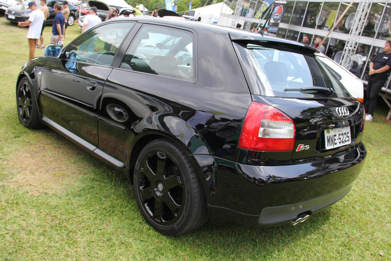 Com tração integral quattro, Audi S3 tinha motor 1.8 turbo de 210 cv
