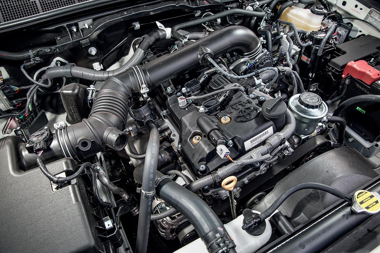 Motor da Hilux: 2.7 16V com até 163 cv e 25,0 mkgf