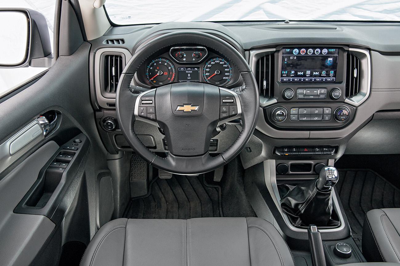 Assistentes de condução são os destaques da S10 na versão LTZ