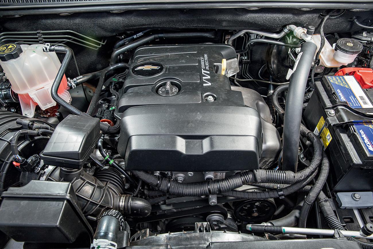 Motor da S10 é um 2.5 16V com até 206 cv e 27,3 mkgf