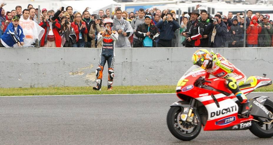 Valentino Rossi, da Ducati