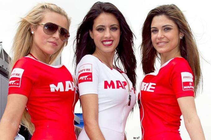 Garotas do GP da Espanha