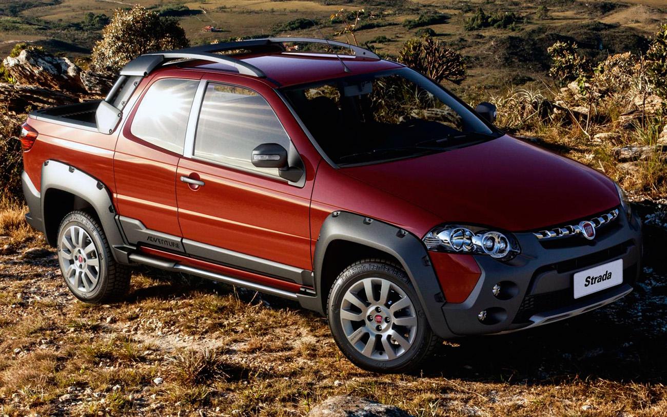 Fiat Strada é a única picape a liderar o mercado, mesmo que por apenas um mês
