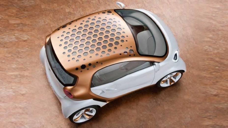 Carro possui, também, painéis de espuma que ajudam a mantê-lo na temperatura correta