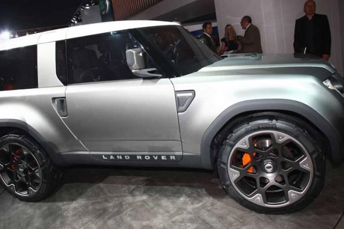 Land Rover: estande em Frankfurt