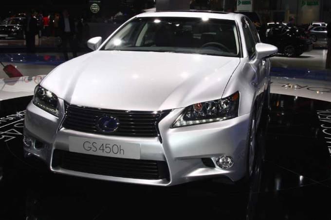 Lexus: estande em Frankfurt