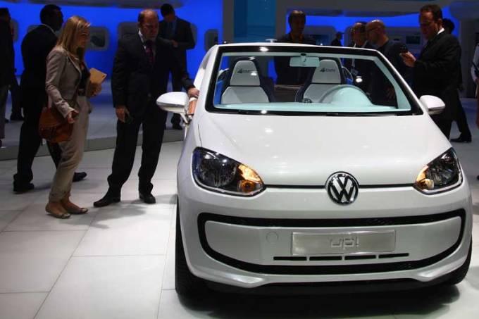Volkswagen: estande em Frankfurt
