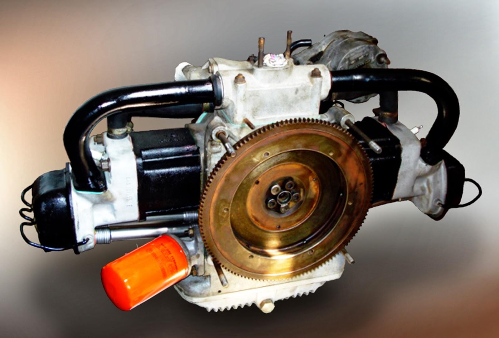Motor 0.8 Enertron. Na época, seu desenvolvimento custou 7 milhões de dólares