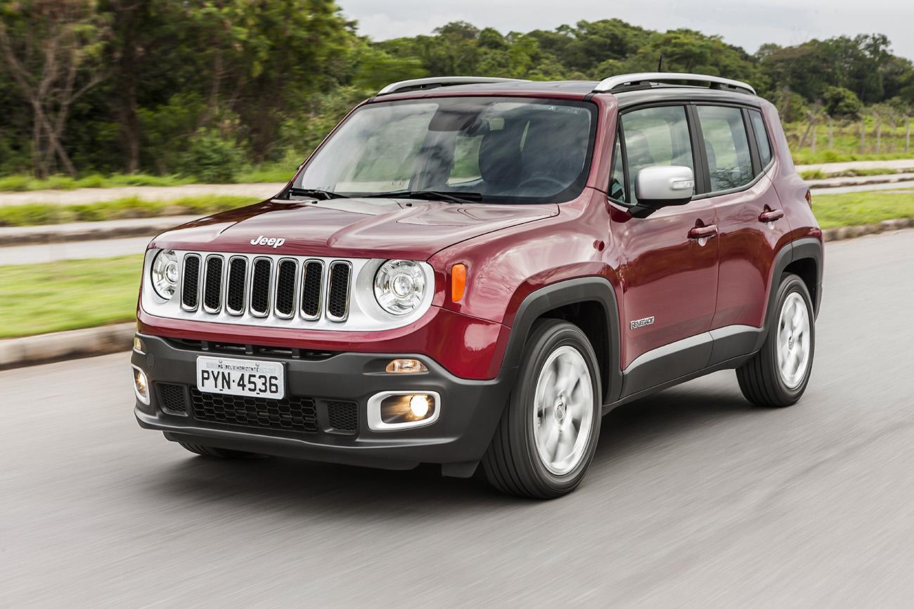 Jeep Renegade Limited 1.8 flex