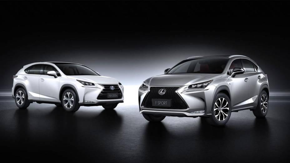 """Lexus NX 2015, modelos 300h e 200t F SPORT   <a href=""""http://quatrorodas.abril.com.br/noticias/saloes/pequim-2014/lexus-revela-crossover-nx-2015-pequim-780341.shtml"""" rel=""""migration"""">Leia mais</a>"""