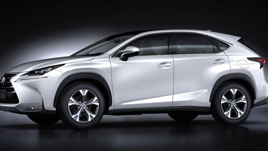 """Lexus NX 2015 é lançado no Salão de Pequim   <a href=""""http://quatrorodas.abril.com.br/noticias/saloes/pequim-2014/lexus-revela-crossover-nx-2015-pequim-780341.shtml"""" rel=""""migration"""">Leia mais</a>"""