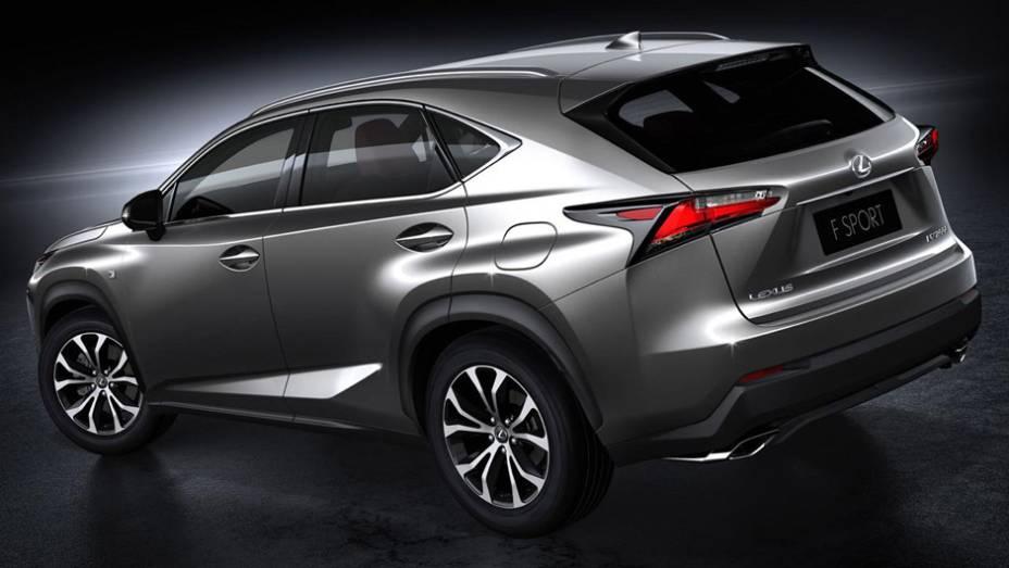 """Lexus NX 2015 200t F SPORT   <a href=""""http://quatrorodas.abril.com.br/noticias/saloes/pequim-2014/lexus-revela-crossover-nx-2015-pequim-780341.shtml"""" rel=""""migration"""">Leia mais</a>"""
