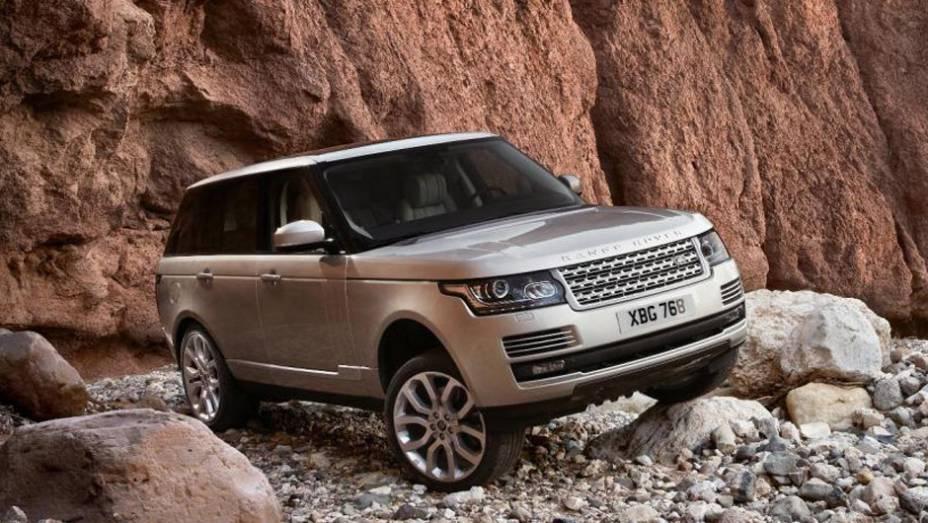 """Novo Range Rover oferecerá sistema de entretenimento   <a href=""""http://quatrorodas.abril.com.br/saloes/paris/2012/range-rover-702581.shtml"""" rel=""""migration"""">Leia mais</a>"""