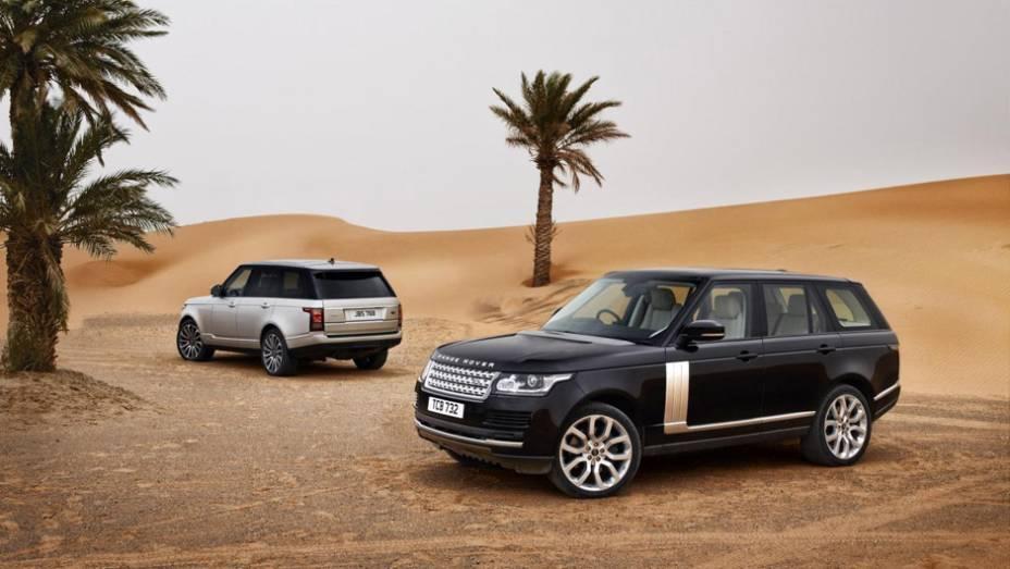 """Novo Land Rover Range Rover   <a href=""""http://quatrorodas.abril.com.br/saloes/paris/2012/range-rover-702581.shtml"""" rel=""""migration"""">Leia mais</a>"""