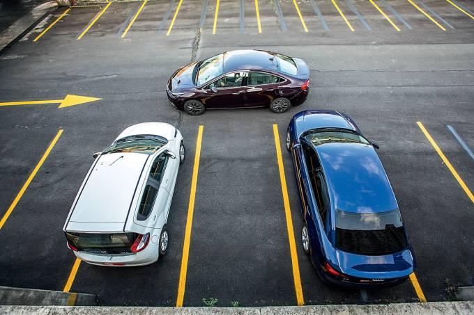 Sistema de estacionamento automático do Chevrolet Cruze